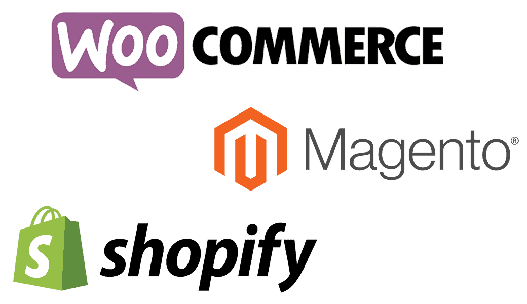 WooCommerce, Magento and Shopify Website Development