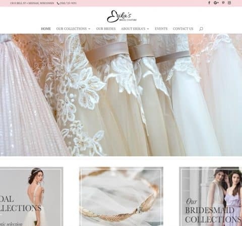 Erika's Bridal Couture - Neenah, Wisconsin