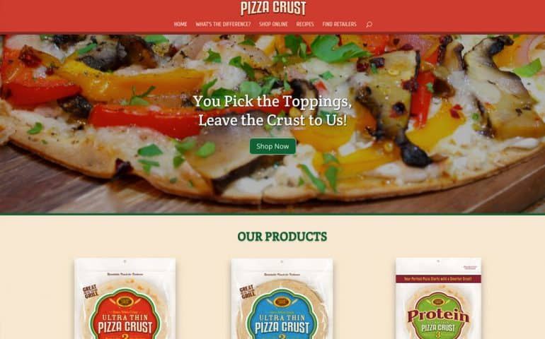 Ultra Thin Pizza Crusts