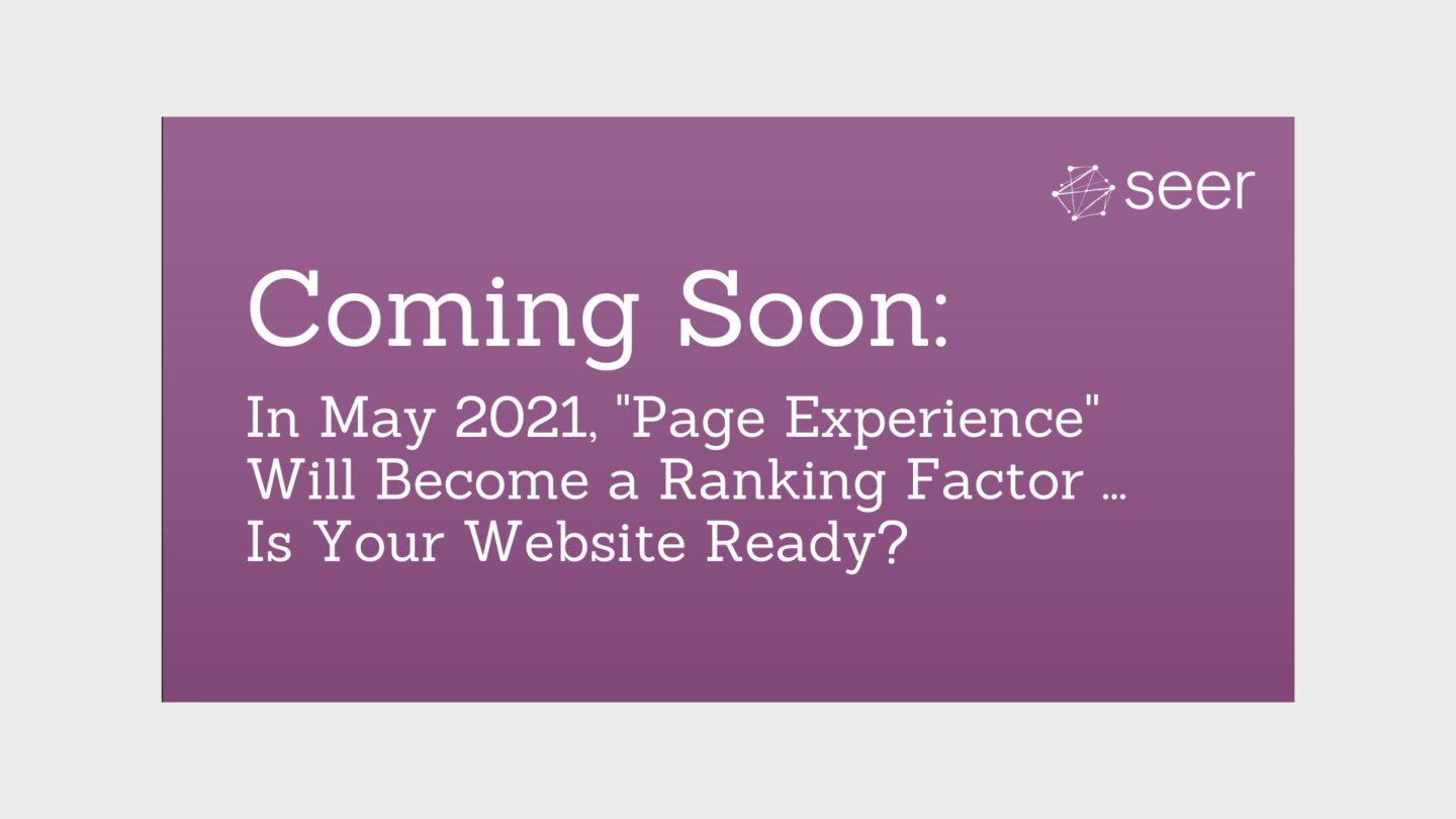 Google Update Postponed: Page Experience as a Ranking Factor