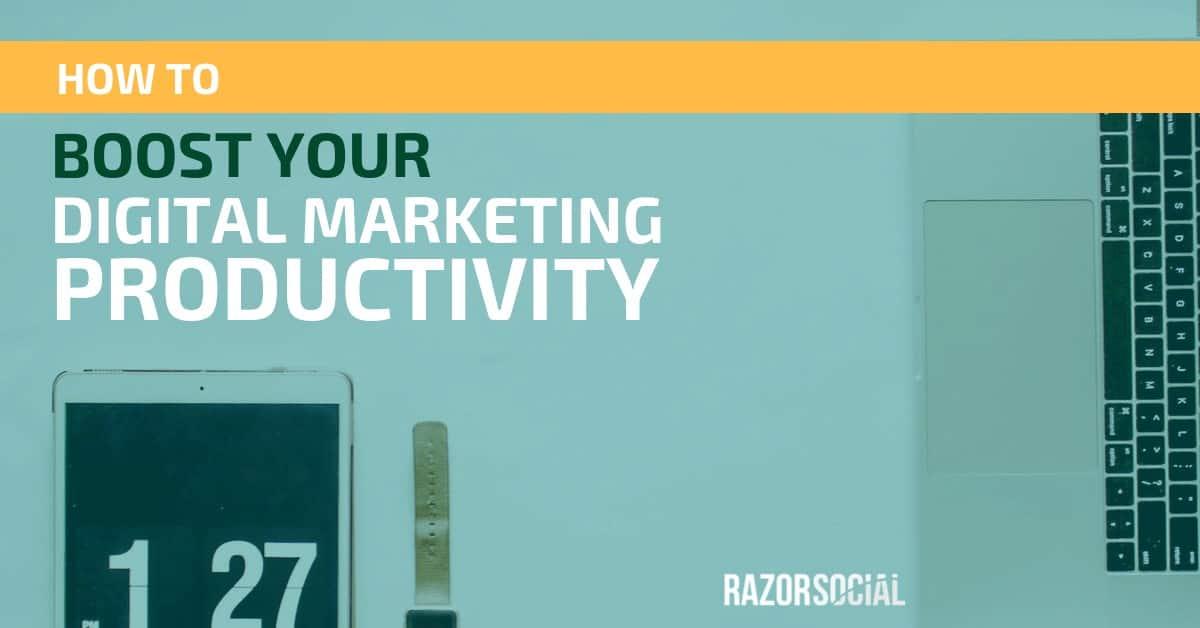 marketing productivity