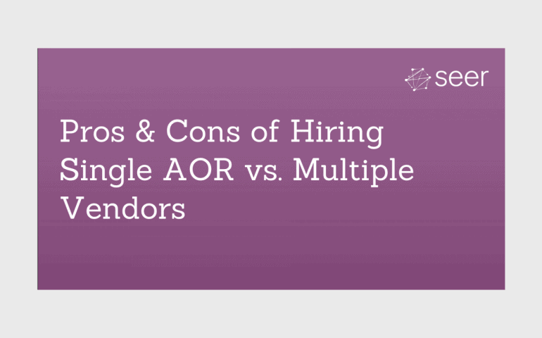 Multiple Vendors vs. Single AOR: Which is Best for Your Organization?