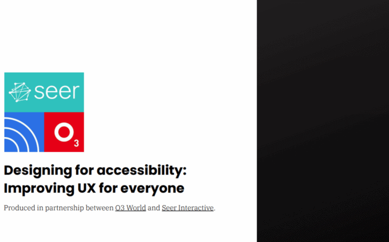 Designing for Accessibility: Improving User Experience for Everyone