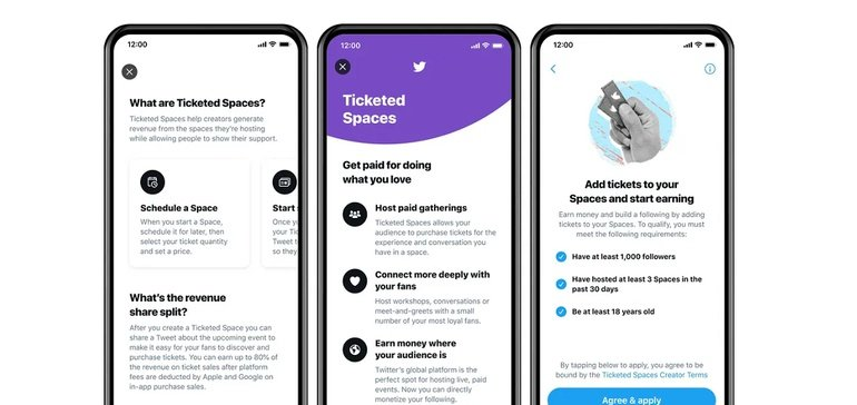 Ticketed Spaces are Coming to Twitter, Providing Another Way for Creators to Monetize