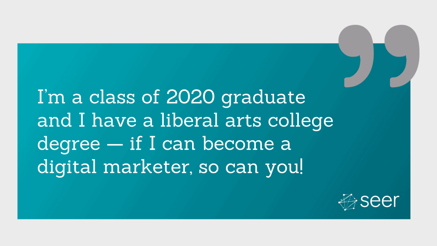 Transferable Skills: How to Get a Job in Digital Marketing Right Out of College
