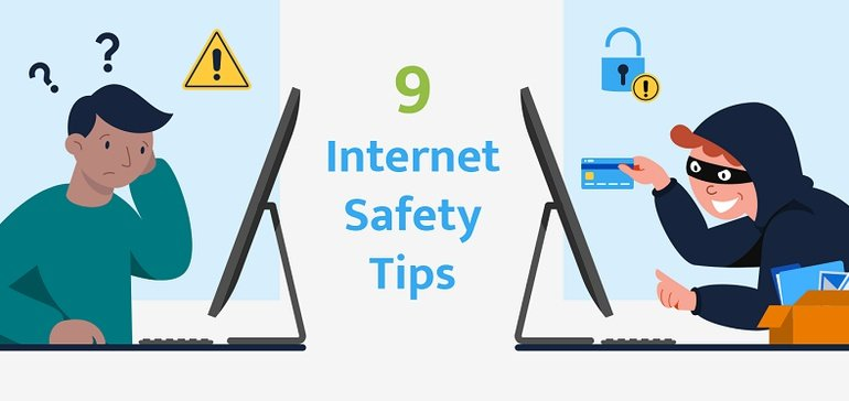 9 Key Internet Safety Tips and Notes [Infographic]