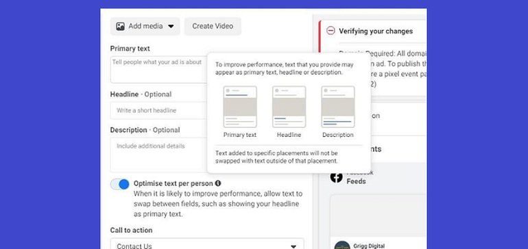 Facebook Adds New 'Optimize Text Per Person' Option for Automated Ad Customization