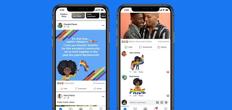 Facebook Announces New Features and Support Initiatives for Pride Month