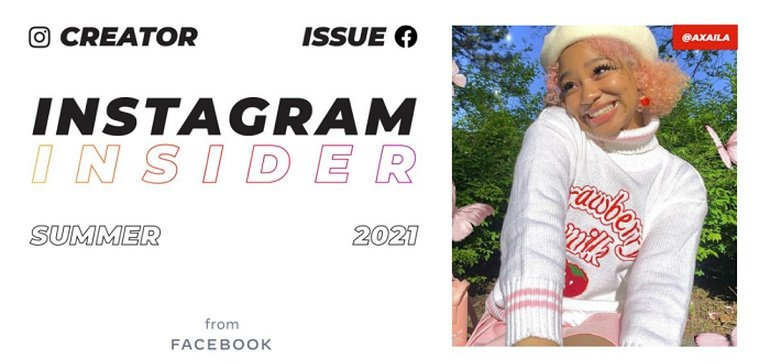 Instagram Releases Summer Edition of its Insider Magazine to Coincide with 'Creator Week'