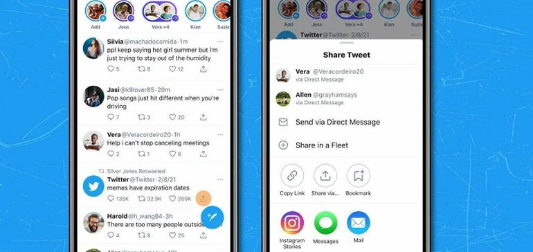 Twitter Announces Full iOS Launch of Tweet Sharing to Instagram Stories