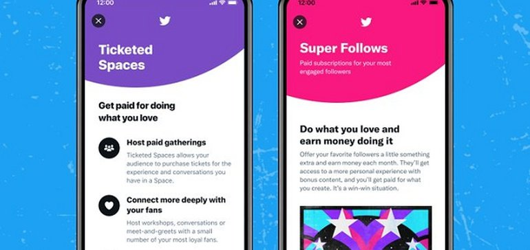 Twitter Opens Up Public Applications for Ticketed Spaces and Super Follows