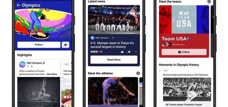 Facebook Adds New Features for the Tokyo Olympics, Including a Games Hub and AR Effects