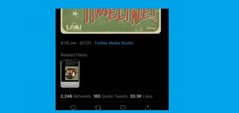 New Twitter Test Highlights 'Related Fleets' Beneath Selected Tweets in Timelines