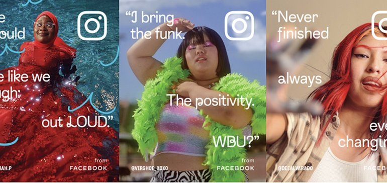 Instagram's New Promotional Campaign Celebrates the Diversity and Creativity of its Audience
