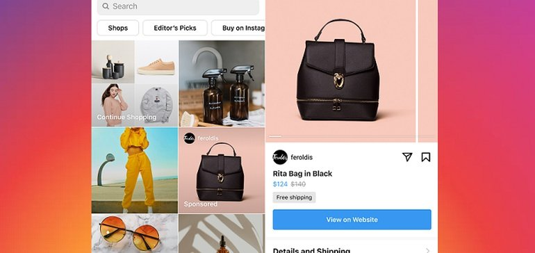 Instagram's Rolling Out its New Sponsored Product Listings to All Merchants