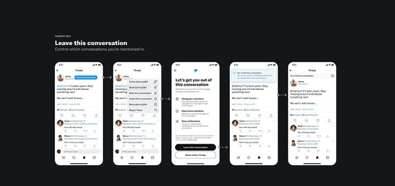 Twitter's Working on a 'Leave This Conversation' Option to Help Manage On-Platform Engagement