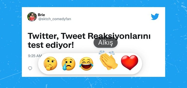 Twitter Launches Live Test of Tweet Reactions in Turkey