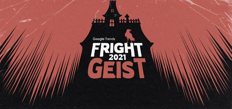 Google Updates its 'Frightgeist' Halloween Trends Mini-Site for 2021