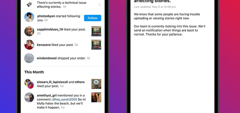 Instagram Adds New In-App Alerts on Technical Issues and Policy Violations Which May Impact Your Account