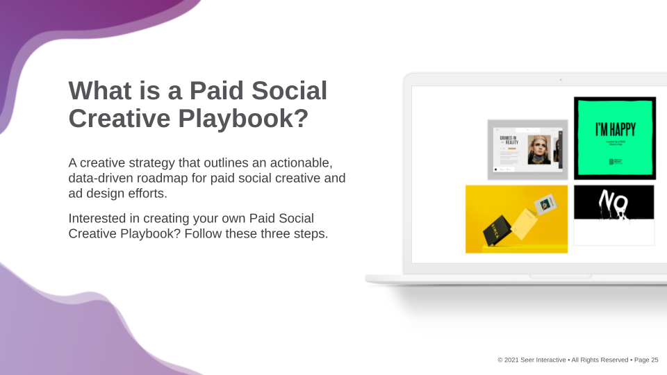 Paid Social Creative Playbook: What is It? Why Create It?